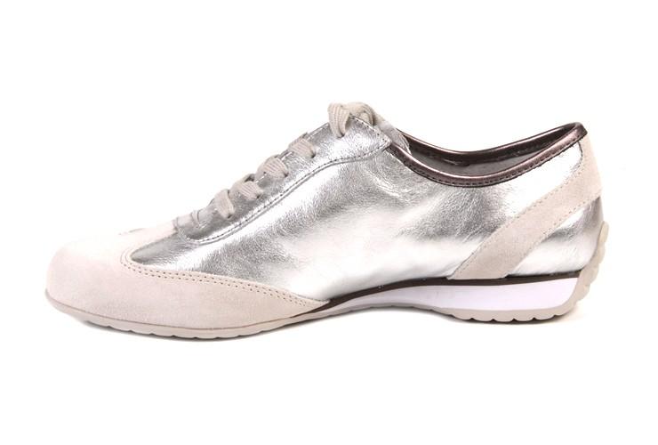 gabor sneaker comfort zilver dames huisman schoenmode. Black Bedroom Furniture Sets. Home Design Ideas