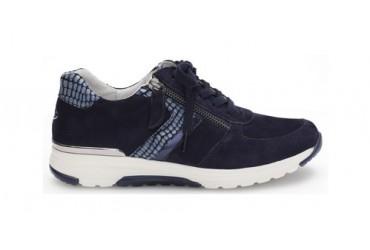 Gabor Sneaker Rolling Soft Donker Blauw