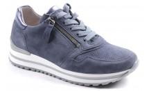 Gabor Sneaker Rits Blauw