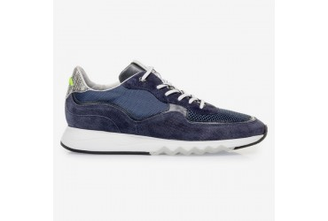 Floris Van Bommel Sneaker Donker Blauw