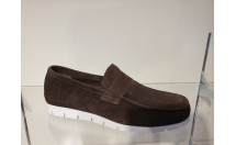 Passi Loafer Suede Bruin