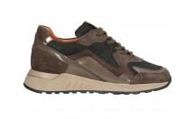 Piedi Nudi Sneaker Bruin Combinatie