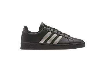 Adidas GRAND COURT CBLACK/PLAMET/CBL - CBLACK/PLAMET/CBLACK