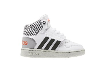 Adidas HOOPS MID 2.0 I FTWWHT/CBLACK/ASH - FTWWHT/CBLACK/ASHSIL