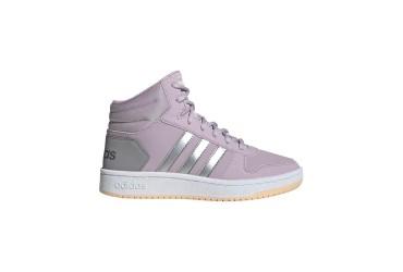 Adidas HOOPS MID 2.0 K MAUVE/MSILVE/LGRA - MAUVE/MSILVE/LGRANI