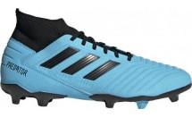 Adidas PREDATOR 19.3 FG BRCYAN/CBLACK/SYE - BRCYAN/CBLACK/SYELLO