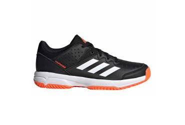 Adidas COURT STABIL JR CBLACK/FTWWHT/SOR - CBLACK/FTWWHT/SORANG