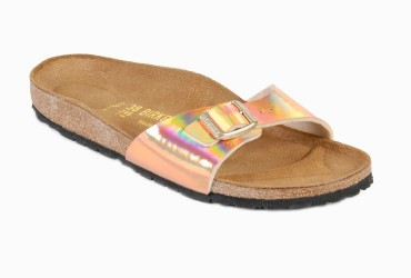 Birkenstock Madrid Slipper Mirror Roze