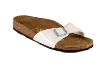 Birkenstock Madrid Slipper Wit