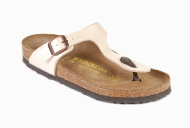 Birkenstock Gizeh Teenslipper Off White