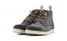 Blackstone Boot Suede Antraciet