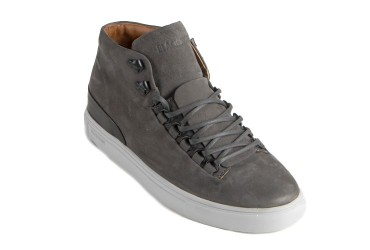 Blackstone MM-32 Sneaker Mid Veterhaken Antraciet