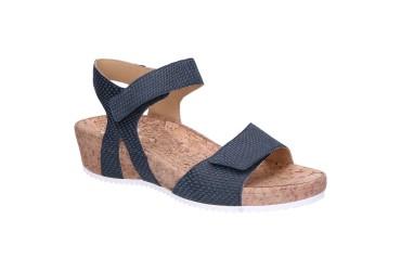 Durea Sandaal Klittenband Blauw