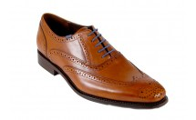 Floris Van Bommel Brook Veterschoen Cognac
