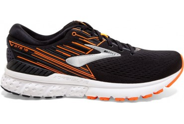 Brooks Adrenaline GTS 19 Heren Zwart Combinatie