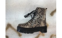 Bronx Veterboot Snake Taupe