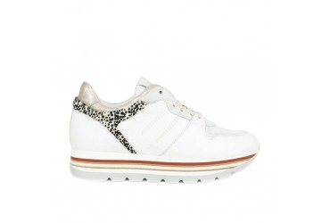 Piedi Nudi Sneaker Da Wit Combinatie