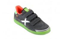 908dd932ae0 Munich Klittenband Sneaker Sport Antraciet