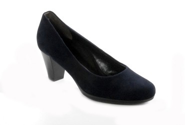Paul Green Pump Plateauzool Hak Blauw