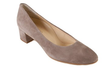Paul Green Pump lage hak Taupe