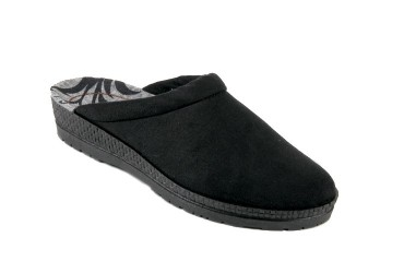 Rohde Slipper Microvelour Zwart