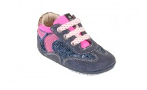Shoesme Babyproof Sneaker Mid Blauw Combinatie