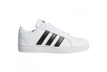 Adidas BASELINE K FTWWHT/CBLACK/FTW - FTWWHT/CBLACK/FTWWHT