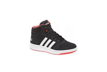 Adidas HOOPS MID 2.0 K CBLACK/FTWWHT/HIR - CBLACK/FTWWHT/HIRERE