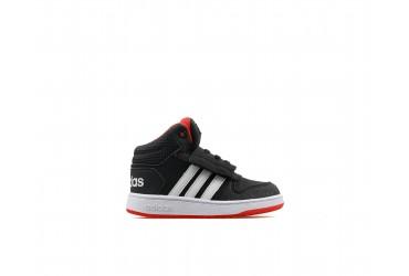 Adidas HOOPS MID 2.0 I CBLACK/FTWWHT/HIR - CBLACK/FTWWHT/HIRERE