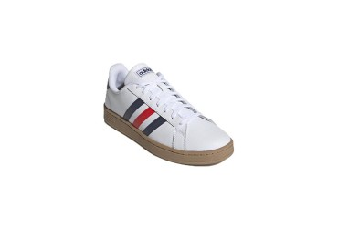 Adidas GRAND COURT FTWWHT/TRABLU/ACT - FTWWHT/TRABLU/ACTRED