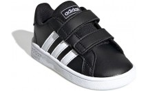 Adidas GRAND COURT I CBLACK/FTWWHT/FTW - CBLACK/FTWWHT/FTWWHT