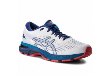 Asics GEL-KAYANO 25 100 - 100 - WHITE/BLUE PRINT