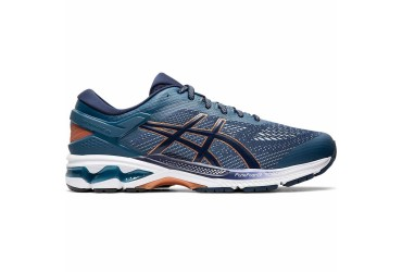 Asics GEL-KAYANO 26 401 - 401 - DEEP AQUA/FLASH YELLOW