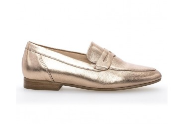 Gabor Loafer Taupe Metallic