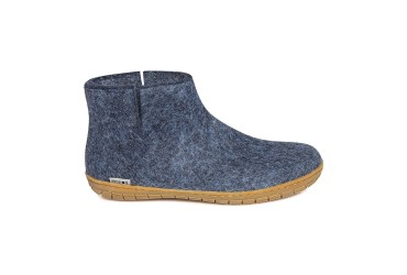 Glerups Low boot Rubber Zool Blauw
