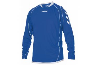Hummel Liverpool Shirt Lange Mouw Blauw