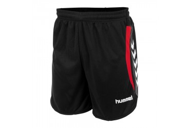 Hummel Odense Short 8600 - 8600 - BLACK-RED