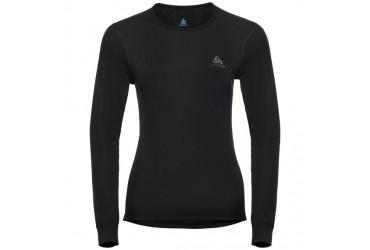 Odlo Shirt l/s crew neck WARM 15000 - 15000 - black