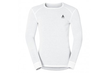 Odlo Shirt l/s crew neck WARM 10000 - 10000 - white