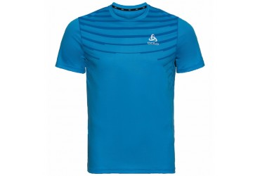 Odlo Ceramic Cool Te Shirt He Blauw